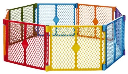 Baby Playpen Fence Review - it\'s BABY time!