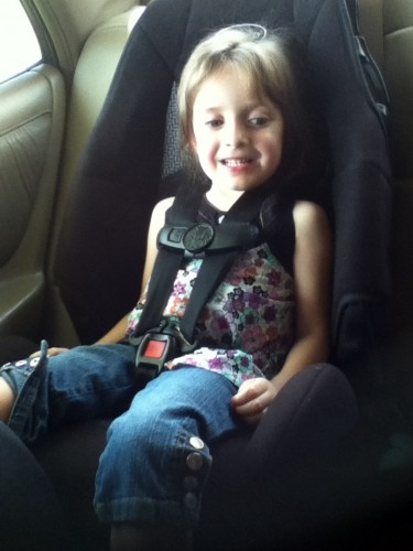 My Review of the Cosco High Back Booster Car Seat - it\'s BABY time!