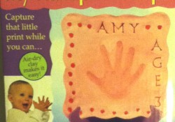 How To: DIY Clay Handprint Plaque