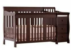 4-in-1 crib and changer