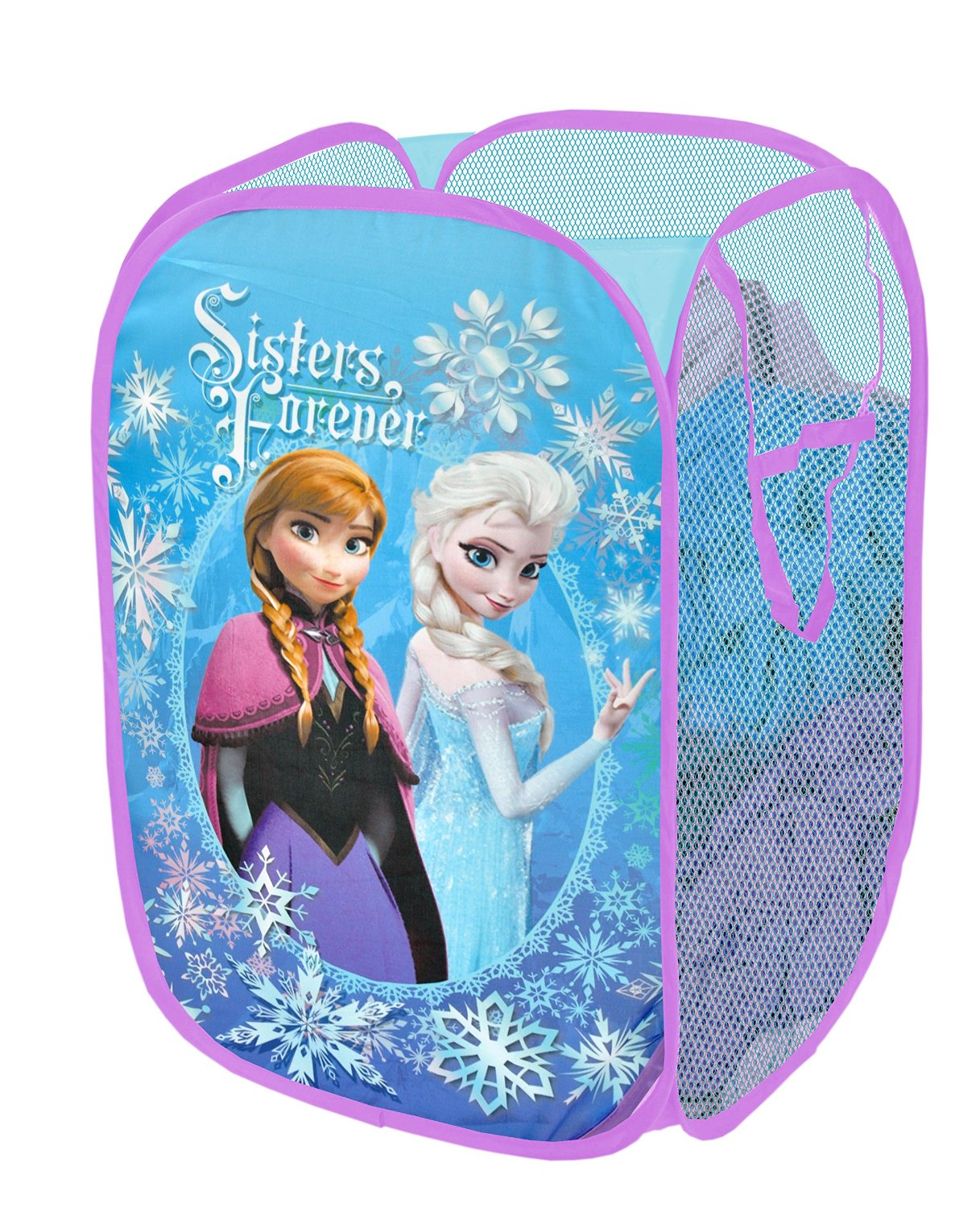 disney frozen bedroom decor. sisters forever popup hamper disney frozen bedroom decor