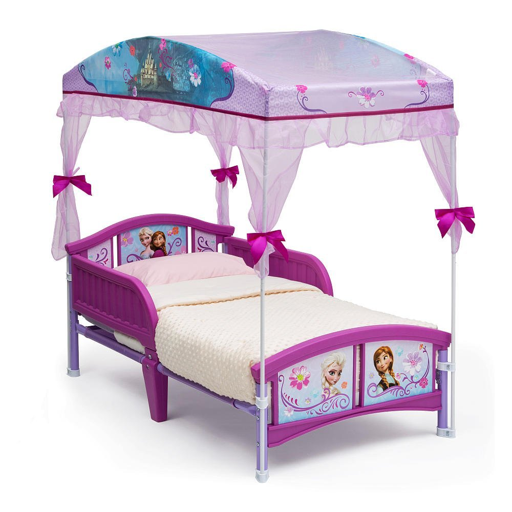 Disney Frozen Canopy Toddler Bed Frozen Toddler Bed