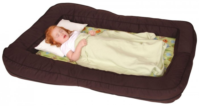 This Portable Bed Has Some Versatile Qualities For More Than Just A Travel Toddlers It Features Comfy Foam Padded Center With Bumper Cushions