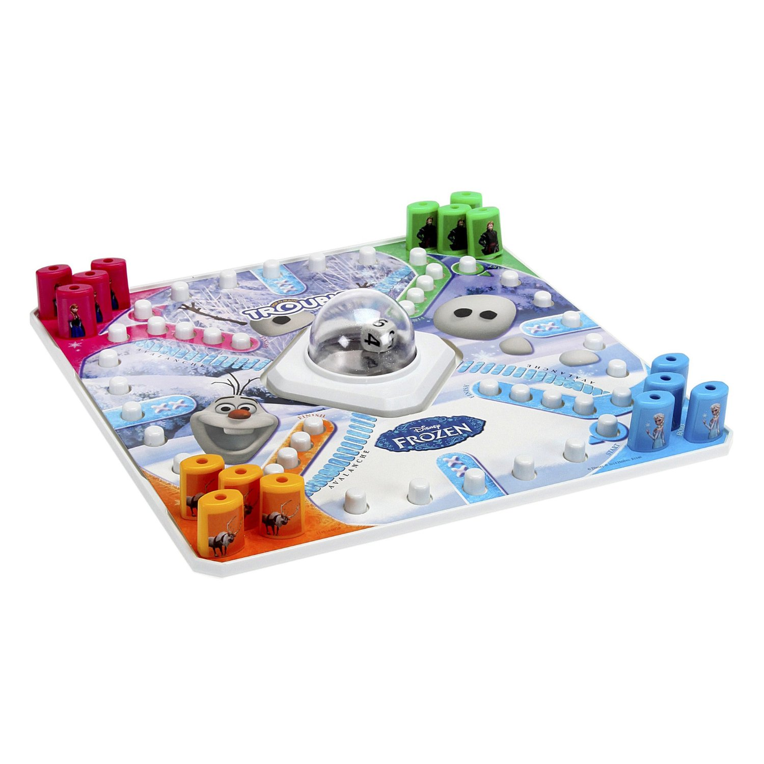 Olaf Trouble game