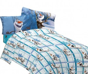 boys olaf sheet set