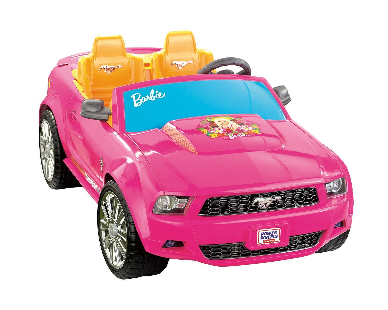 fisher price power wheels barbie ford mustang 71bzrwh9qql_sl1500_