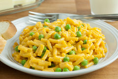 mac and peas